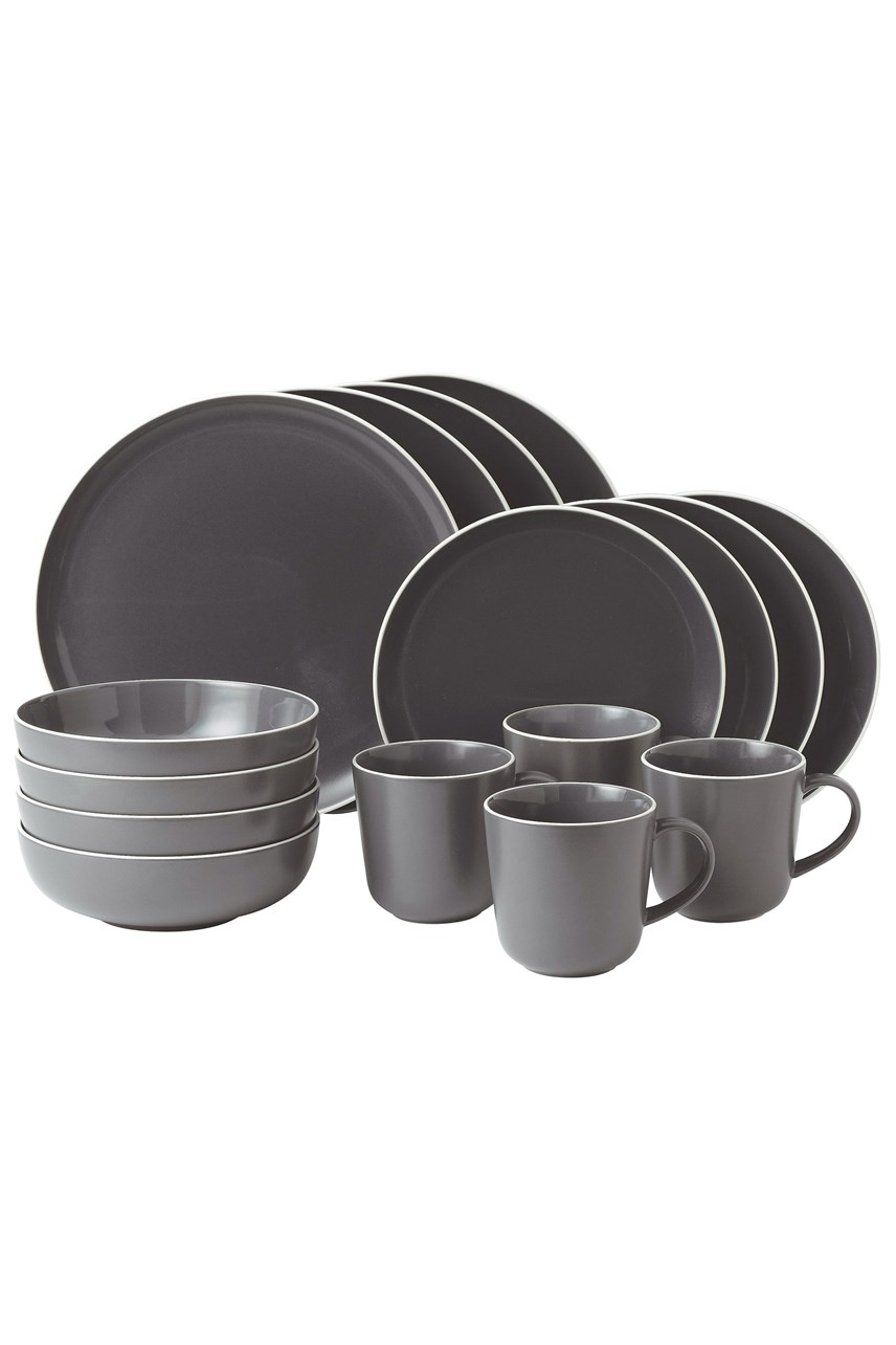 Bread Street Slate 16 Piece Set