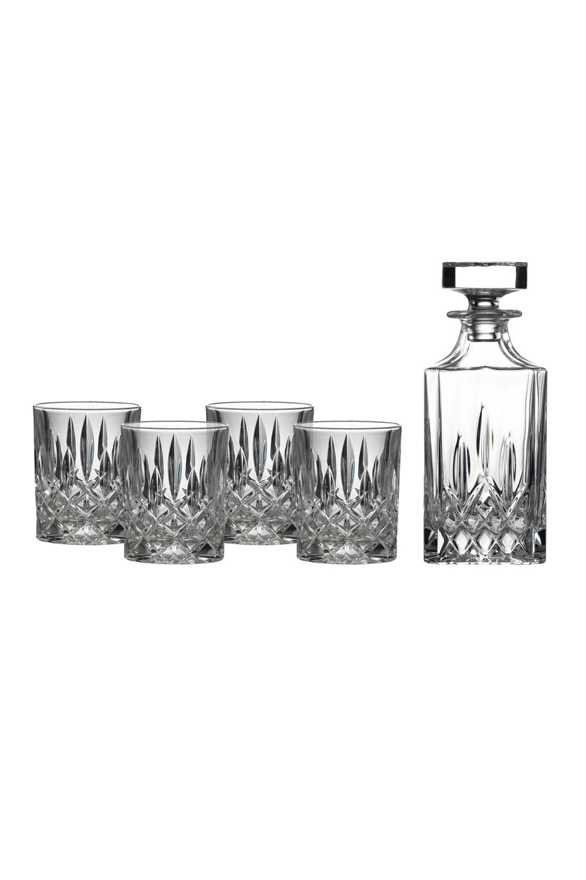 Square Spirit Decanter & Tumbler Set