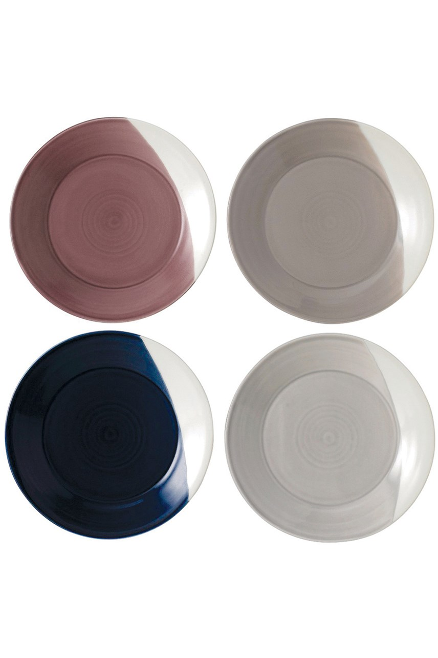 'Bowls of Plenty' Plates Set of 4