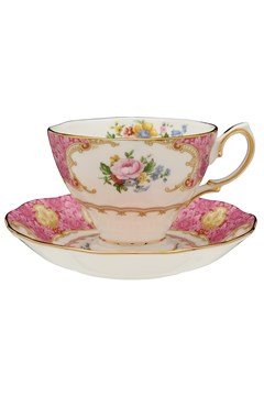 Lady Carlyle Tea Cup & Saucer Set 1