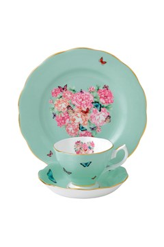 'Blessings' Teacup, Saucer & Plate 1