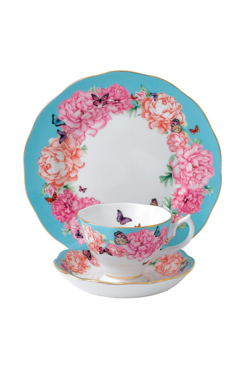 'Devotion' Teacup, Saucer & Plate