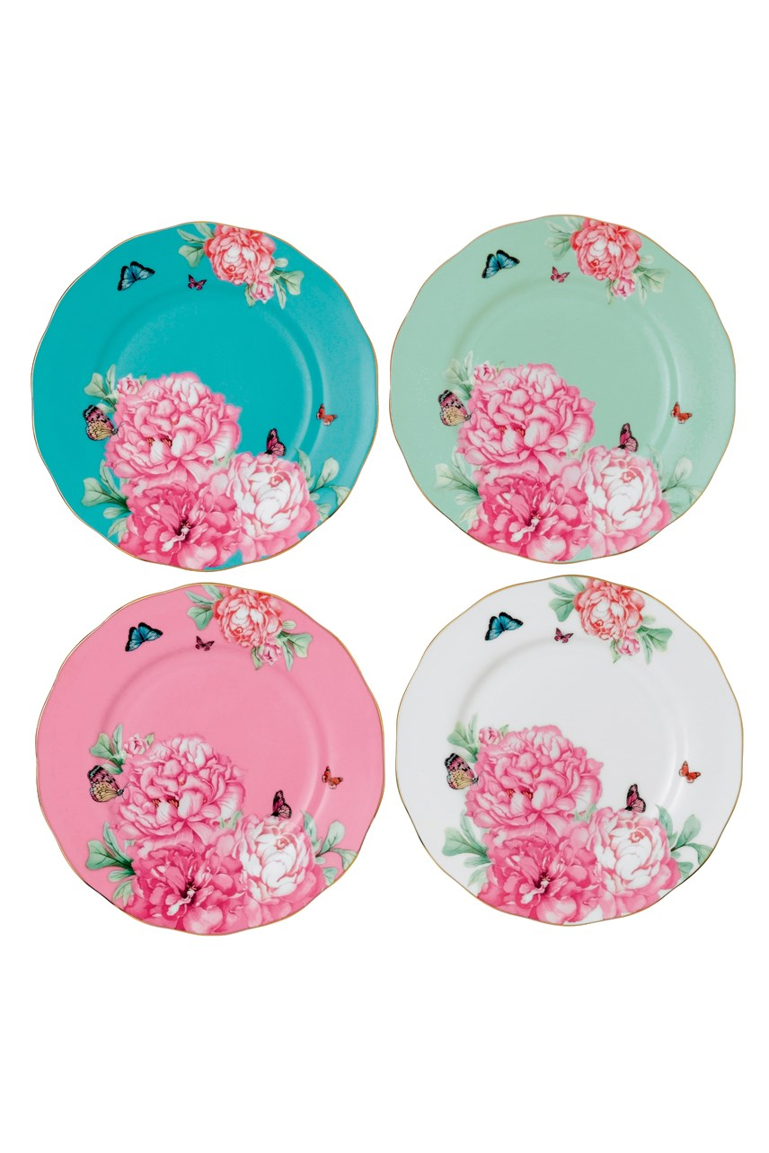 Set of 4 Plates 20cm