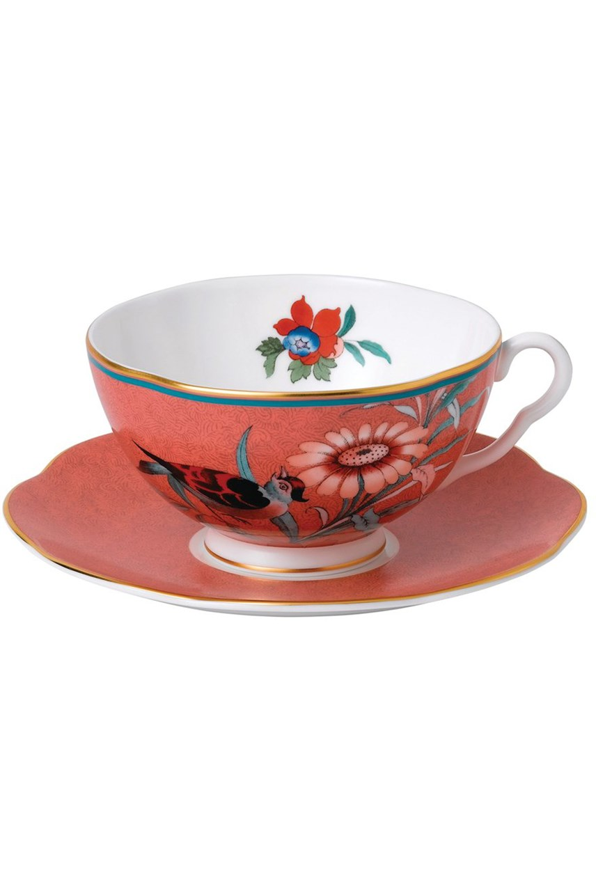 Paeonia Blush Teacup & Saucer
