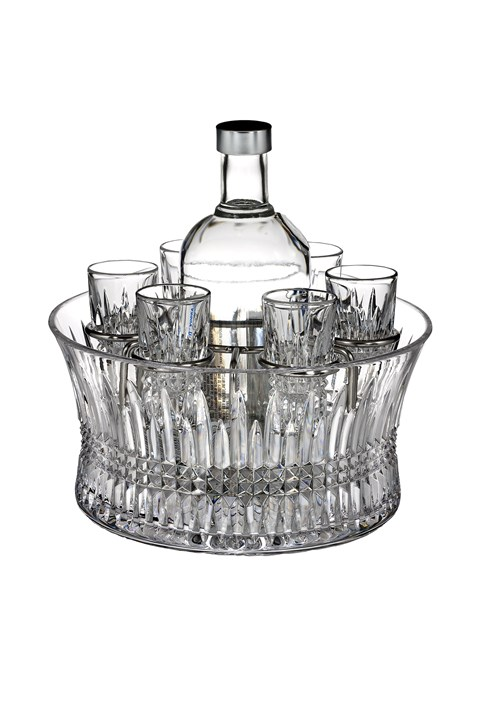 'Lismore Diamond' Vodka Entertaining Set -