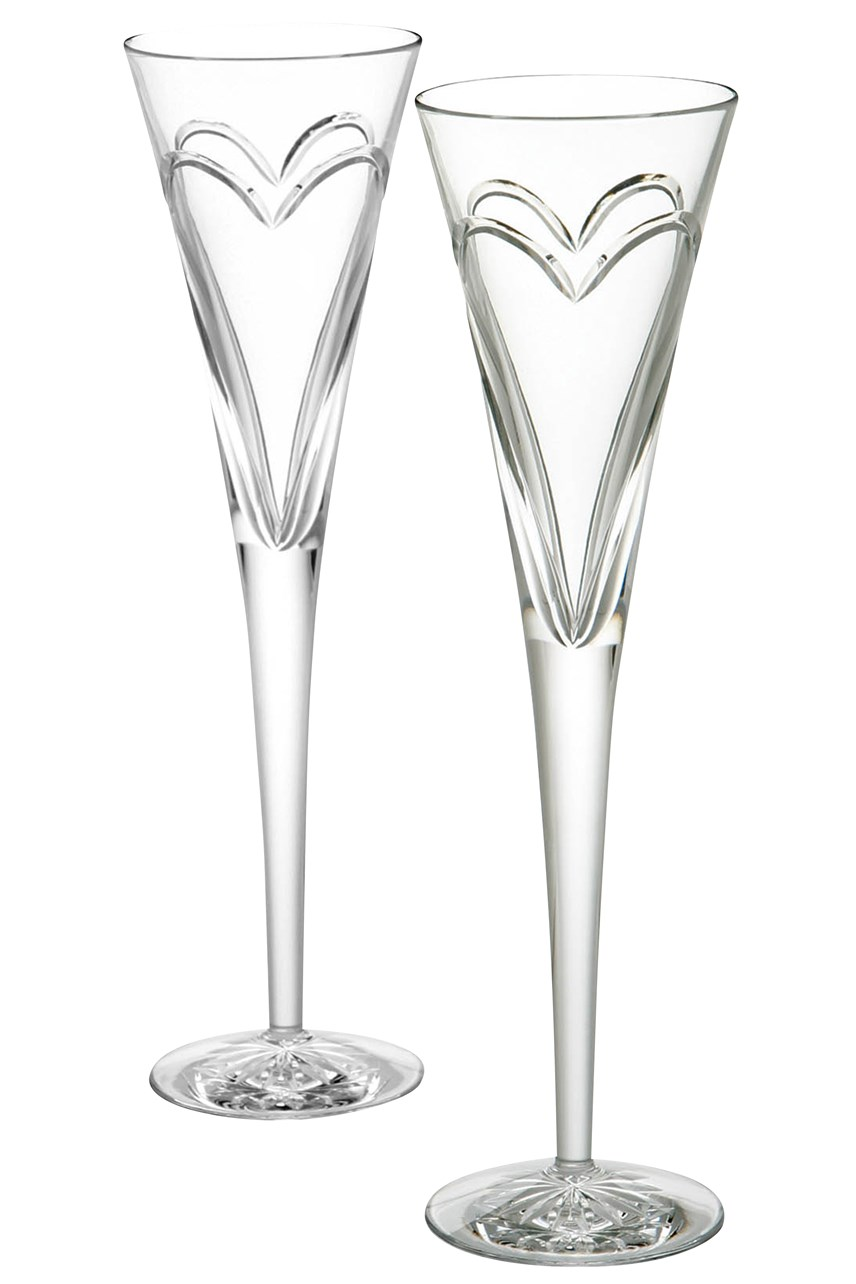 Romance Love Celebration Flute Pair