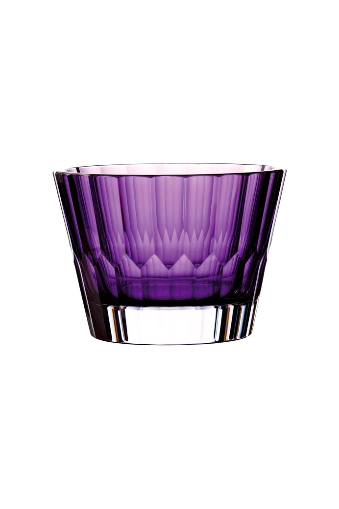 Jeff Leathem Icon Bowl Amethyst 20cm