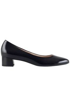 Studio Low Court Heel BLACK 1