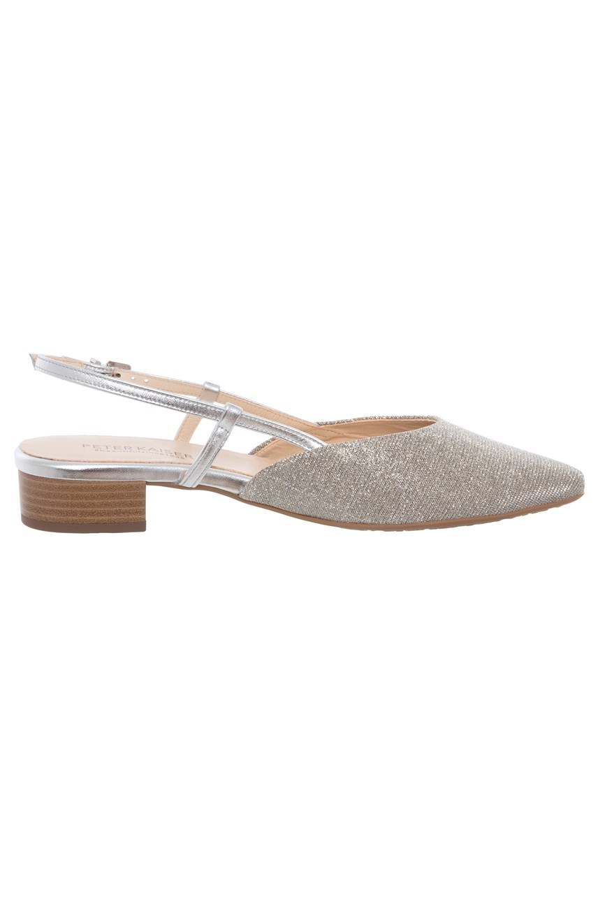 Calinda Low Heel Sling Back