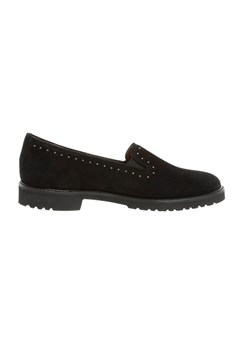 Suede Diamante Loafer NERO 1