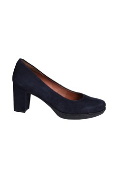 Axel Velours Court Shoe NAVY 1