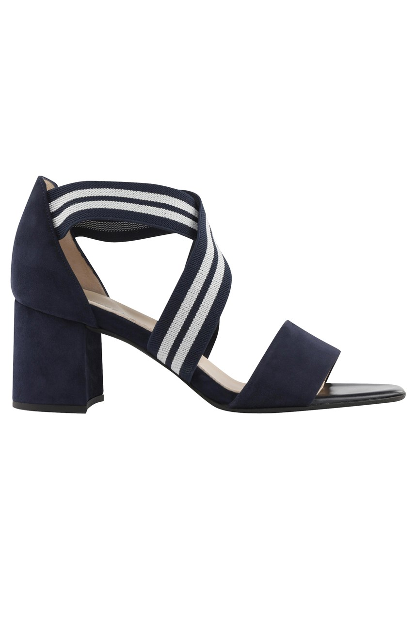 Paige Cross Over Heeled Sandal