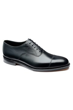 Aldwych Toe Cap Oxford Shoe BLACK 1