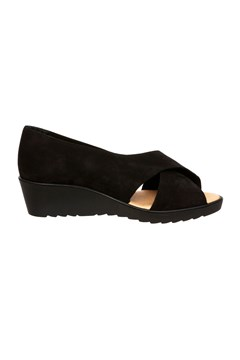 Bahamas Cross Over Wedge BLACK 1