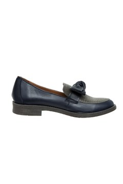 Loafer With Bow NAVY 1