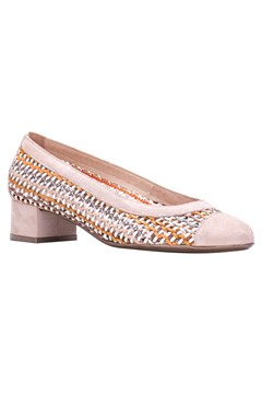 Andros Woven Court Shoes CORAL 1