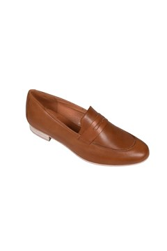 Jocel Leather Loafer CAMEL 1