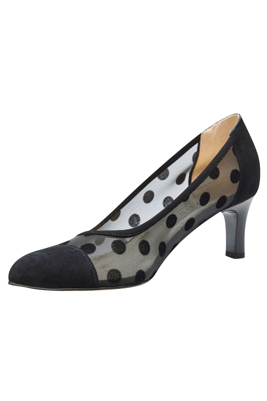 Kaba Mesh Dot Court Shoe