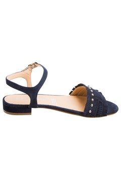 Low Heel Sandal - navy
