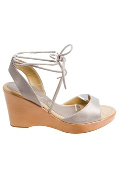 Wedge Sandal GOLD METALLIC 1