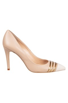 Nappa Leather Court Shoe OLD ROSE 1