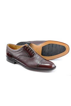 Woodstock Oxford Shoe BURGUNDY 1