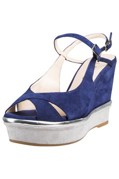 Wedge Sandal - deep blue