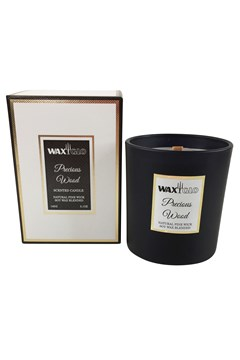 'Precious Wood' Soy Wax Filled Jar PRECIOUS WOOD 1