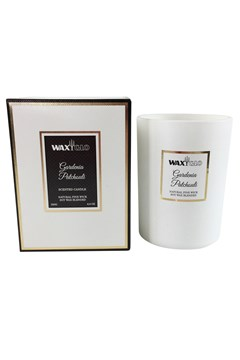 'Gardenia Patchouli' Soy Wax Filled Jar - gardenia patchouli