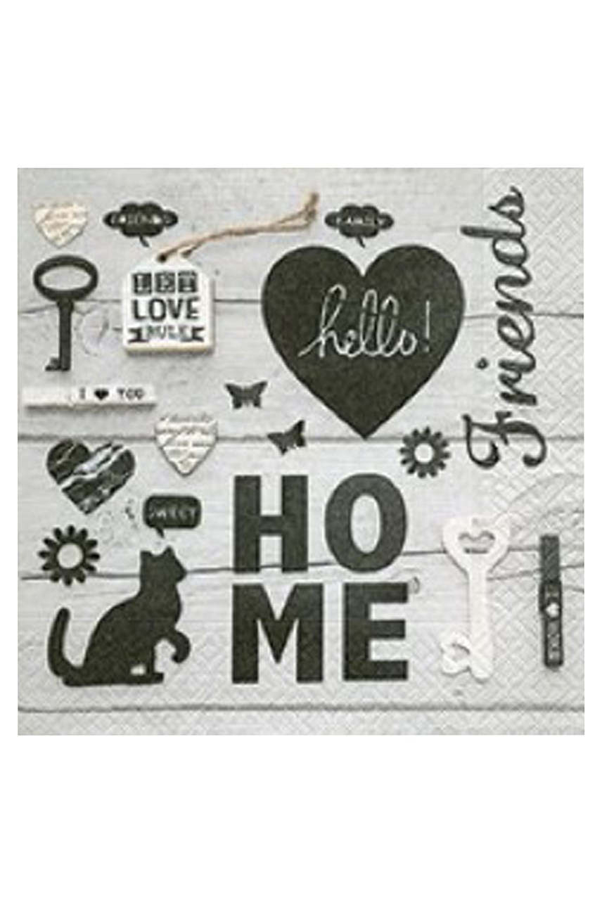 Let Love Rule Luncheon Napkins