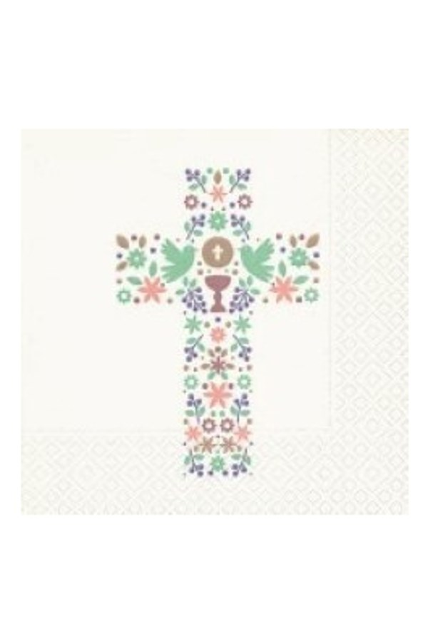 The Cross Luncheon Napkin