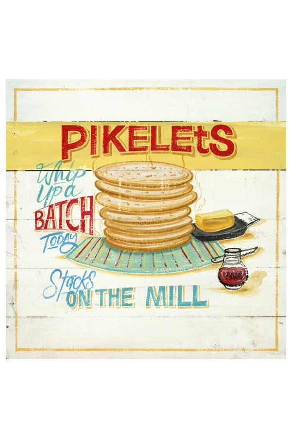 Pikelets Luncheon Napkin