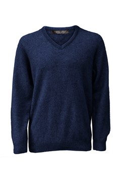 Oxford Vee Pullover 112 MARITIME 1