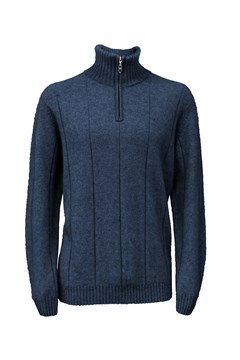 Javelin Zip Neck - 112 maritime