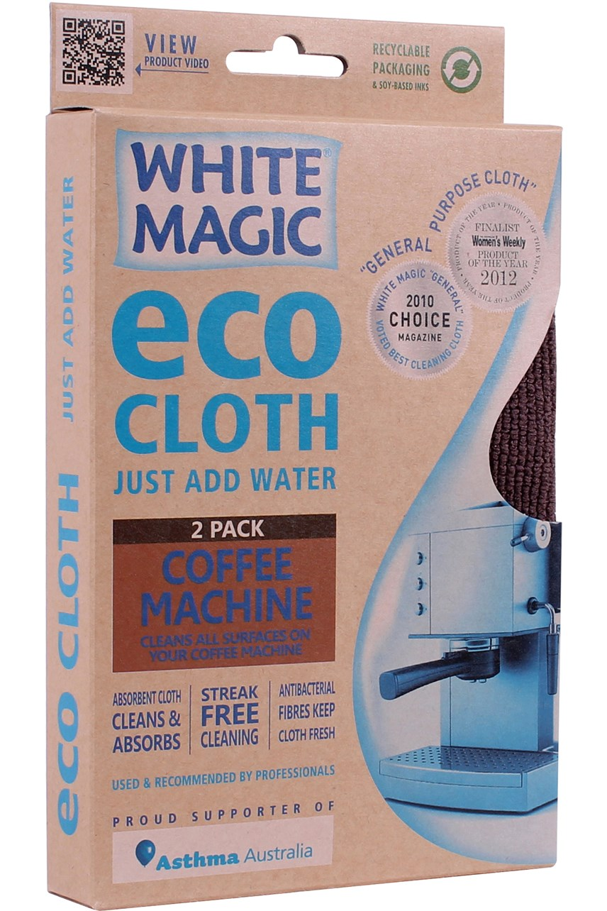 Coffee Machine Eco Cloth 2 Pack