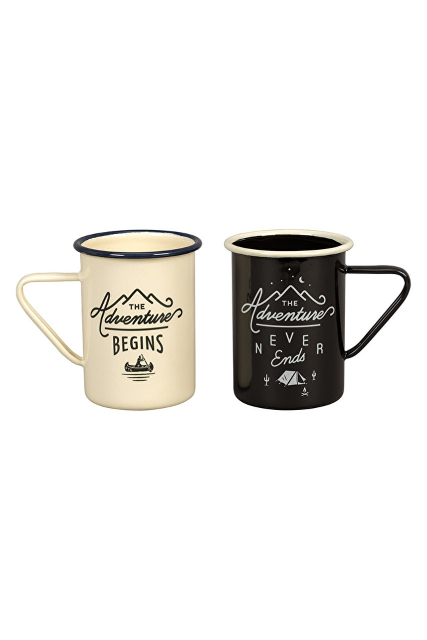 Enamel High Mug Set of 2