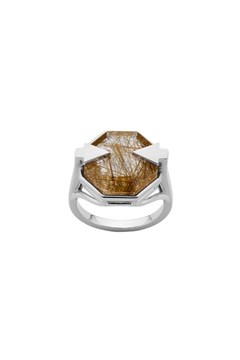 Astrid Ring - Rutilated Quartz 1