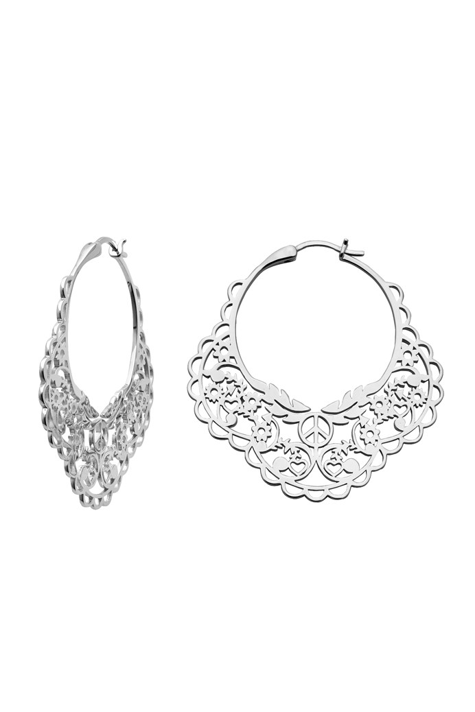 238ca952e6b Filigree Hoop Earrings - KAREN WALKER JEWELLERY - Smith   Caughey s ...