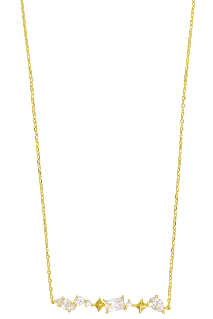Kaia Stardust Gold Necklace