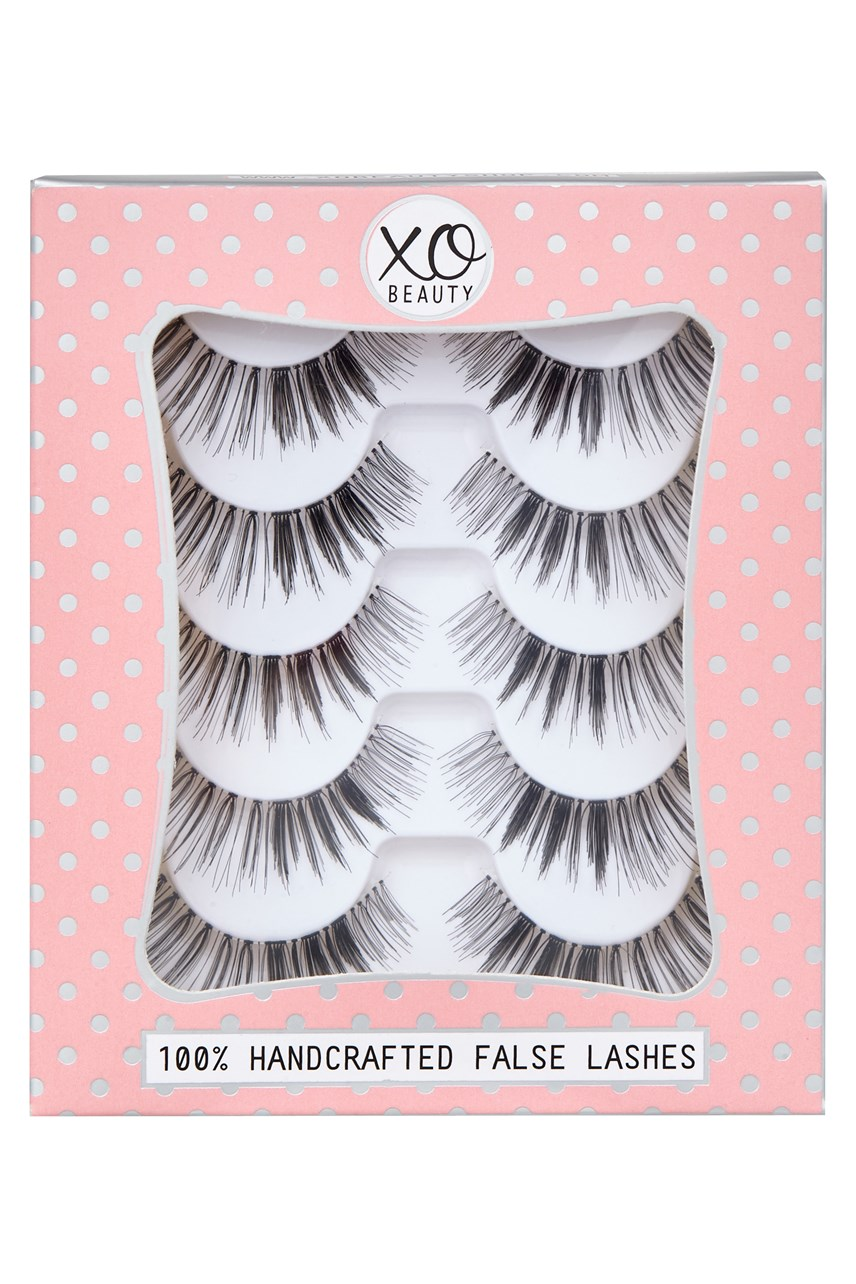 The Gold Digger 5-Piece False Lashes Set
