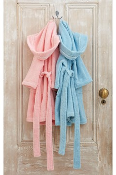 Kids Microcotton Robe Floss 1