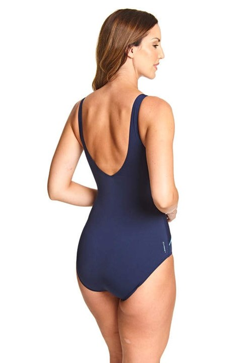 Macmasters Scoopback Swimsuit - navy