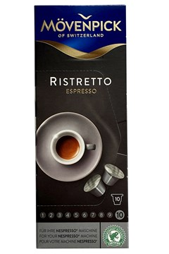 Mövenpick Coffee Capsules Ristretto 10-Pack 1
