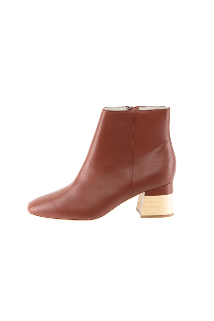 Ankle Boot Leather
