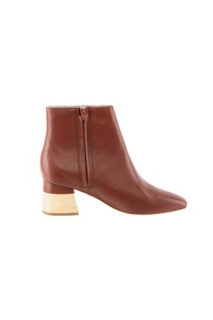 Ankle Boot Leather OAK 1